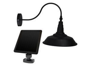 Sunforce Solar Barn Light Fully adjustable lamp head Amorphous solar panel