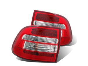 CG PORSCHE CAYENNE 03-06 L.E.D TAILLIGHT RED/CLEAR 03-PC03TLED PAIR