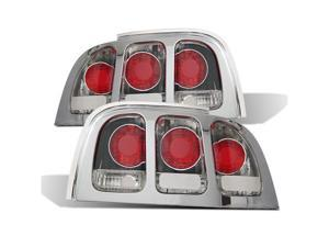 CG FORD MUSTANG 94-98 TAILLIGHT CHROME 03-FM9498TLA PAIR
