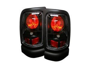 Spyder Auto Dodge Ram 1500/2500/3500 94-01 Euro Tail Lights - Black ALT-YD-DRAM94-BK