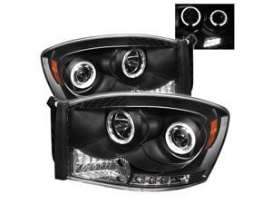 Spyder Auto PRO-YD-CS07-CCFL-C Chevy Silverado 1500//2500//3500 Chrome CCFL LED Projector Headlight with Replaceable LEDs