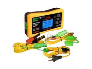 Battery Saver Battery Charger, Tester & Cleaner- (6 & 12 Volt) 25 Watt 3015-Lcd