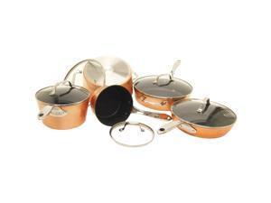 Starfrit - 030910-001-STAR - THE ROCK by Starfrit 030910-001-STAR THE ROCK(TM) by Starfrit(R) 10-Piece Copper Cookware