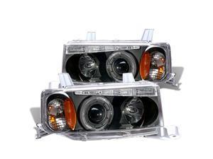 Cg Scion Xb 04-06 Projector Headlight G2 Halo Black Clear Amber 02-Az-Sb03-Pbc-R-G2-A Pair