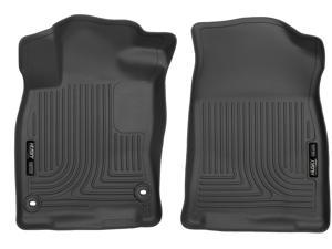 Husky Liners For 2016-2018 Honda Civic Coupe, 2017-2018 Honda Civic Hatchback, 2016-2018 Honda Civic Sedan X-act Contour Series Front Row Floor Liners 52141