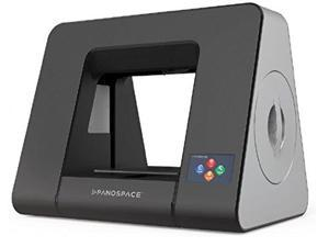 Panospace High Speed 3D printer Sleek Design with One-Click Printing (silver gray) PSPA06