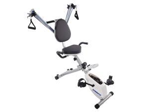Stamina 8 Adjustable Level Exercise Bike With Upper Body Strength System 15-0344