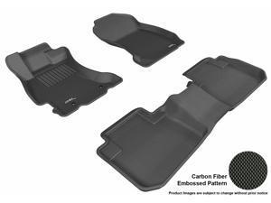 3D MAXpider L1SB00901509 Subaru FORESTER 2014-2017 KAGU BLACK R1 R2