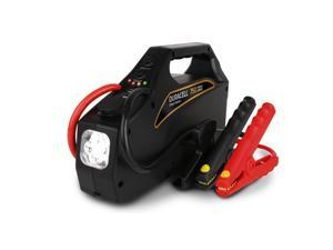 Duracell DRJS20 Jumpstarter 750|750 AMPs|12V DC outlet|2.1A USB port|4 LED bulbs | 6 AWG