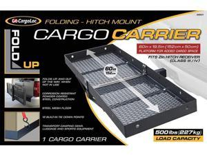 "CargoLoc 60"" x 19.5"" Fold-Up Hitch Mount Cargo Carrier 32501"