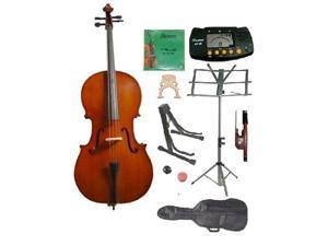 Crystalcello MC200 1/10 Size Cello with Carrying Bag