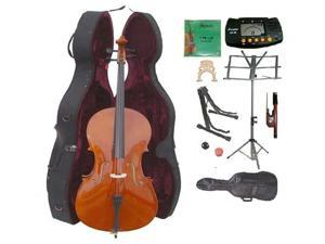 Crystalcello MC250 1/4 Size Cello with Hard Case