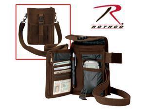 Travel Bag Portfolio Shoulder Bag by Rothco in Brown