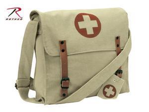 Rothco Vintage Medic Bag in Khaki