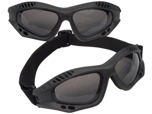 Rothco ANSI Rated Tactical Goggles in Black