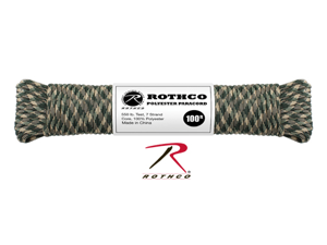 Rothco Polyester Paracord - 100 FT