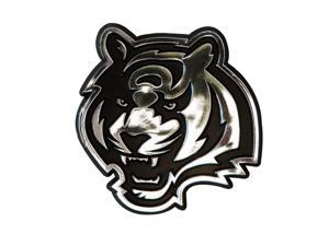Cincinnati Bengals Silver Auto Emblem