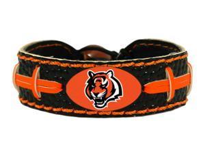 Cincinnati Bengals Team Color Football Bracelet