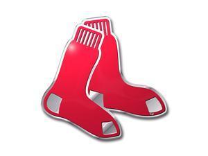 Boston Red Sox Color Auto Emblem - Die Cut