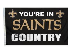 New Orleans Saints 3'x5' Country Design Flag