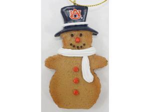 "4"" Vibrant Auburn Cookie Dough Snowman Christmas Ornament"
