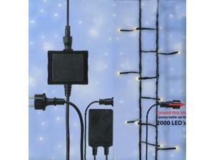 Connect 24V LED Starter Kit - Transformer, Controller and 2 Sets of Christmas Lights - Warm Clear
