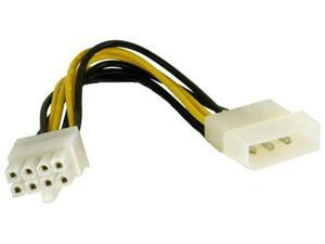 4-pin Molex to 8 PIN EPS12V Connector PC Converter Adapter Cable by Battleborn