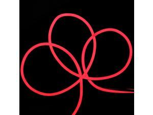 Red LED Commercial Grade Neon Style Flexible Christmas Rope Lights - 18 ft