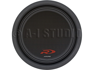 "Alpine SWR-T12 12"" Type R Thin Subwoofer"