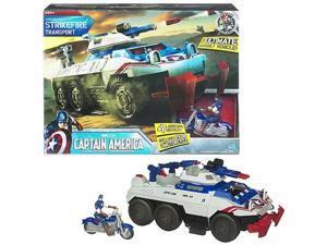 Captain America Strikefire Transport Ultimate Vehicle