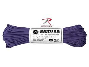 Rothco 149 Purple 100' 550lb III Commercial Paracord
