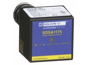 Square D 1 Phase Surge Protection Device, 120/240VAC  SDSA1175