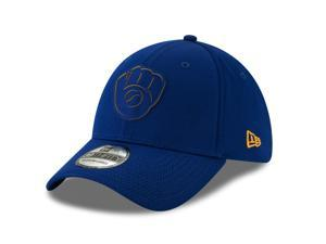 ce78ad98fc4 Milwaukee Brewers 2019 Clubhouse Collection 39THIRTY Flex Fit Hat ...