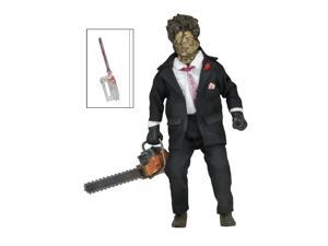 """Action Figure - Texas Chainsaw Massacre 2 - 8"""" Movie Clothed Leatherface 14945"""