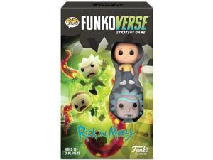 Funkoverse Strategy Game: Rick & Morty Expandalone