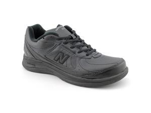 46ac034f84b43 New Balance W577 Mens Size 13 Black X Wide Leather Walking Shoes UK ...