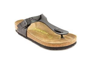 Birkenstock Gizeh Womens Size 5 Black Sandals T-Strap Thongs Sandals Shoes