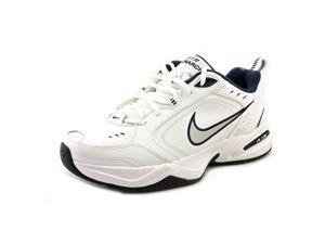 Nike Air Monarch IV Men US 9.5 White Walking Shoe UK 8.5 EU 43