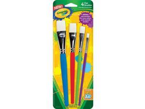 Flat Brush Set - Party Supplies