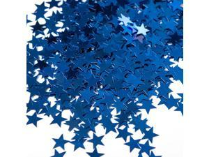 Blue Stars Foil Confetti .5oz (Each) - Party Supplies