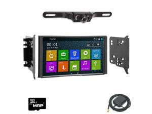Otto Navi In Dash Navigation System DVD GPS Navigation Multimedia Radio and Dash Kit for Kia Sorento 2007-2009 with Back up camera and extra