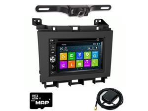 Otto Navi In Dash Navigation System DVD GPS Navigation Multimedia Radio and Kit for Nissan Maxima 2009-2014 with Back up camera and extra