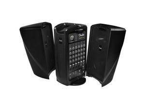 Fender Passport Event 375 Watts 6-Channel Pro Audio System, Black