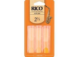 Rico Alto Saxophone Reeds #2 1/2 - 3 Pack