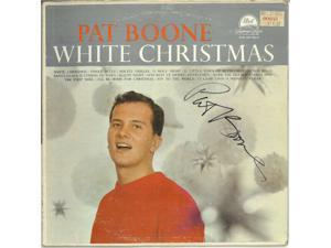 Pat Boone signed 1959 White Christmas Album Cover/No Vinyl- JSA #JJ96515