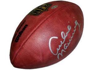 Archie Manning signed Official NFL New Duke Football- Steiner Hologram