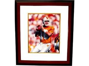 Peyton Manning unsigned Tennessee Vols 8x10 Photo Custom Framed