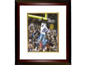 Alvin Harper signed Dallas Cowboys 8x10 Photo Custom Framed Super Bowl Champs 92 93