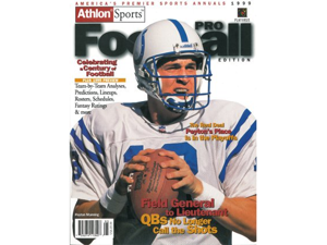 Athlon CTBL-012270 Peyton Manning Unsigned Indianapolis Colts Sports 1999 NFL Pro Football Preview Magazine