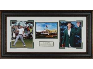Adam Scott unsigned 2013 Masters Champion 3 Photo Leather Framed